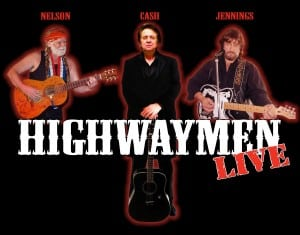 Book or Hire The Highwaymen Tribute show to Willie, Waylon and Johnny